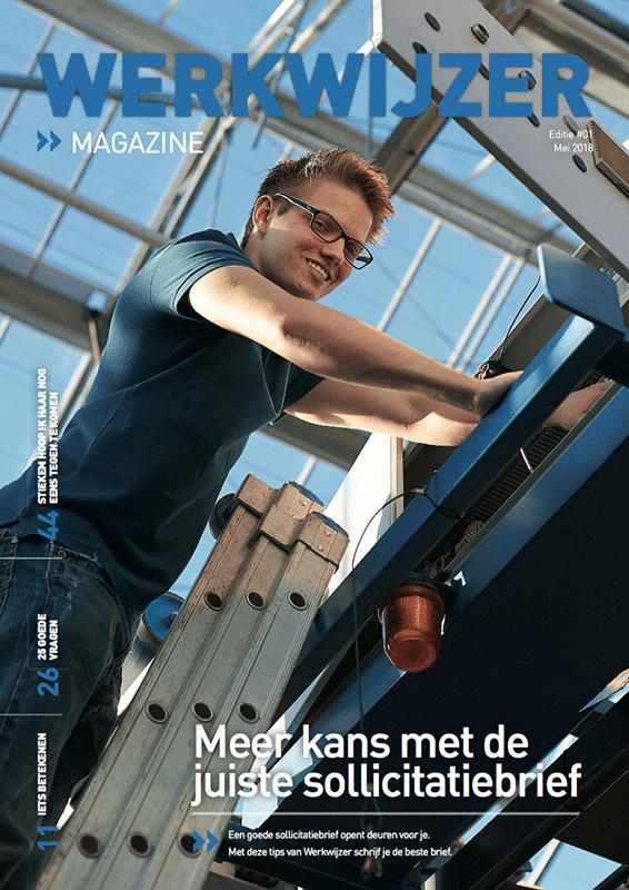 Werkwijzer magazine - Meer kans met de juiste sollicitatiebrief