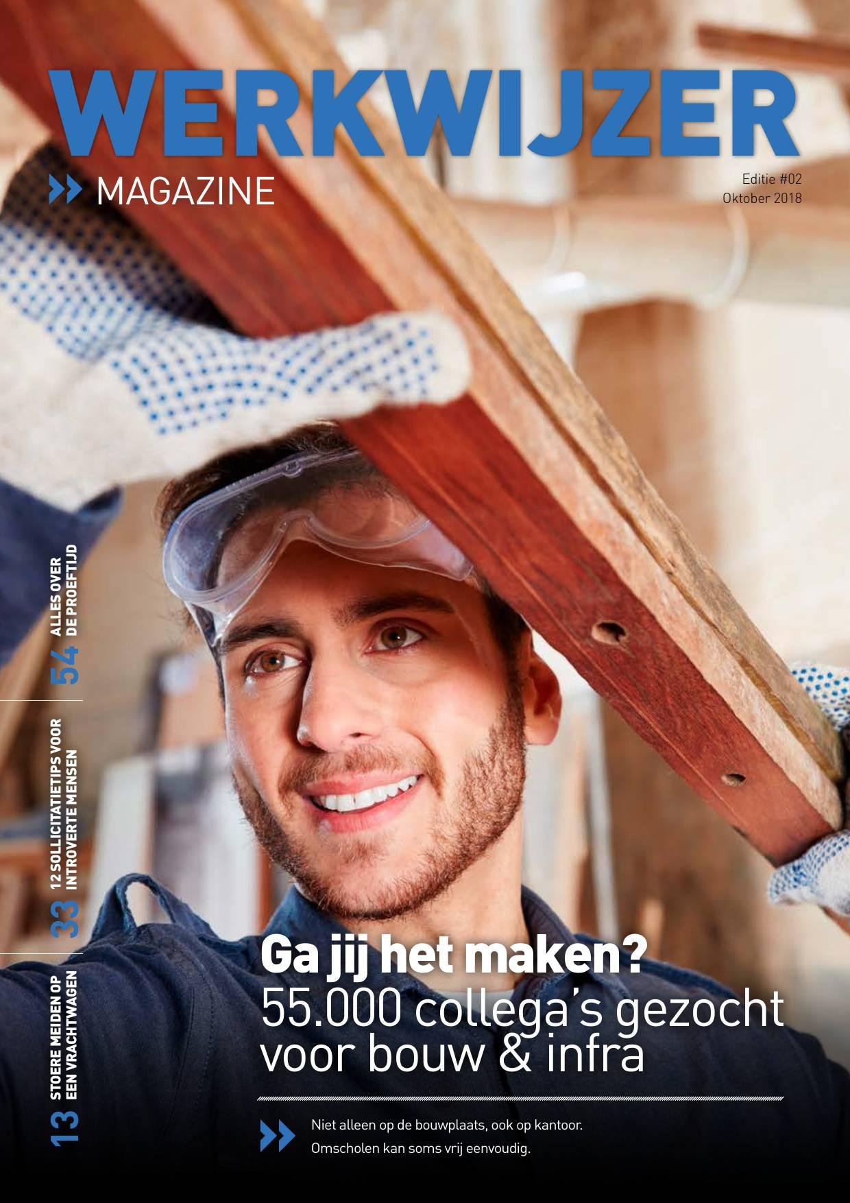 Werkwijzer magazine - 55.000 collega's gezocht